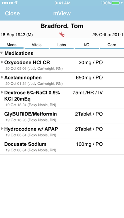PatientTouch - Patient Prescription Medicine Screenshot