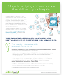 clinical mobility IT tip sheet