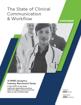 state of clinical communication and workflow