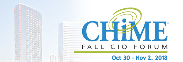 CHIME18 Fall CIO Forum