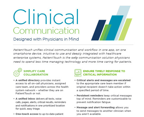 Clinical commiunication